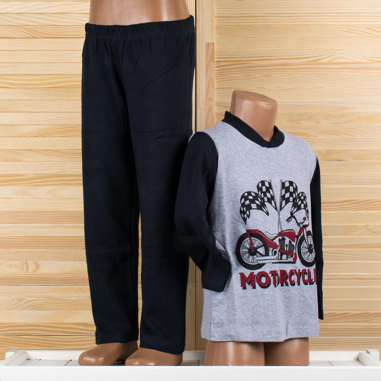 Детская пижама на мальчика Турция. Moral 07-3 2/3. Размер на 2/3 года.