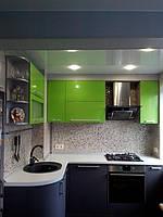 Встроенная угловая кухня под заказ  3