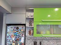 Встроенная угловая кухня под заказ  5