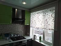 Встроенная угловая кухня под заказ  8