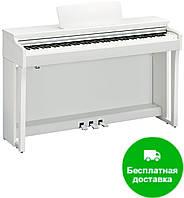 Цифровое пианино Yamaha Clavinova CLP-625WH (+блок питания)