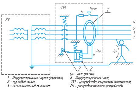 дифавтомат ад 2 схема подключения