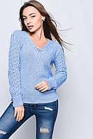 Вязаные женские свитера Блайс-2 из шерсти и акрила