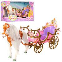 Игровой набор «Карета с лошадкой» 209B Metr+
