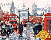 Картины по номерам 40×50 см. Babylon Premium Очарование лондона Художник Ричард Макнейл, фото 1