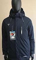 Мужская горнолыжная куртка Avecs Темно-синяя