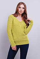 Вязаные женские свитера Блайс-5 из шерсти и акрила