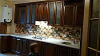 Угловая кухня из массива под заказ 2