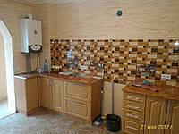 Угловая кухня из массива под заказ 6
