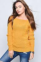 Вязаные женские свитера Грейс-1 из шерсти и акрила