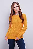 Вязаные женские свитера Грейс-2 из шерсти и акрила