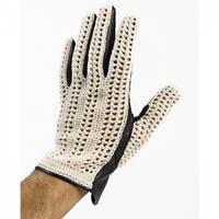 Мотоперчатки Baruffaldi Guia Crochet черный L