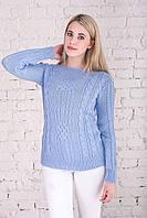 Вязаные женские свитера Грейс-3 из шерсти и акрила