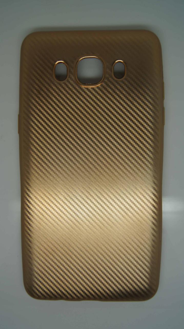 Силиконовый чехол Biboshi для Samsung J5 (2016) Gold