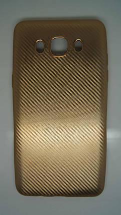 Силиконовый чехол Biboshi для Samsung J5 (2016) Gold, фото 2