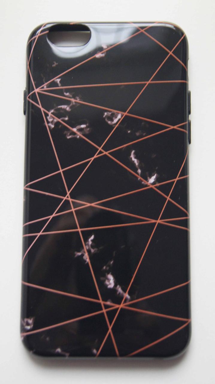 Силиконовый чехол для iPhone 6 / 6S Черный