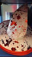 Карнавальный колпак ведьмы с каплями крови