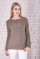 Вязаные женские свитера Грейс-7 из шерсти и акрила