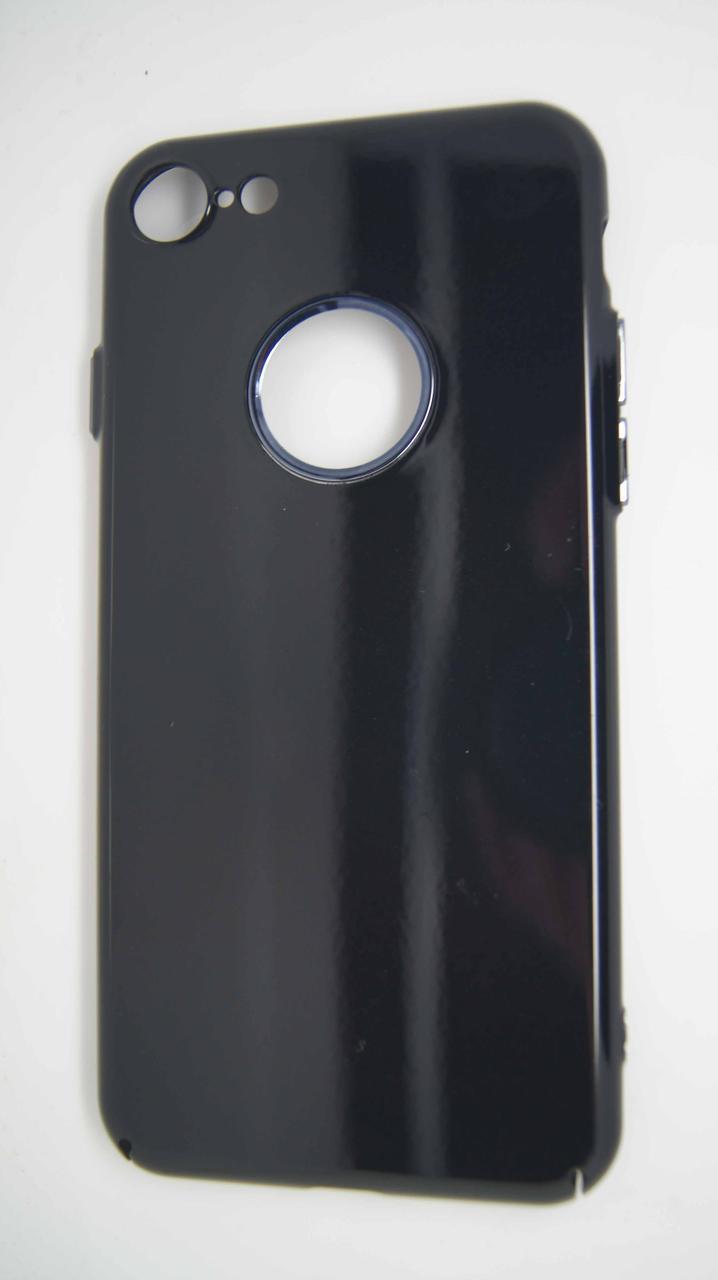 Пластиковый чехол Star для iPhone 7 / 8 Black крокодил