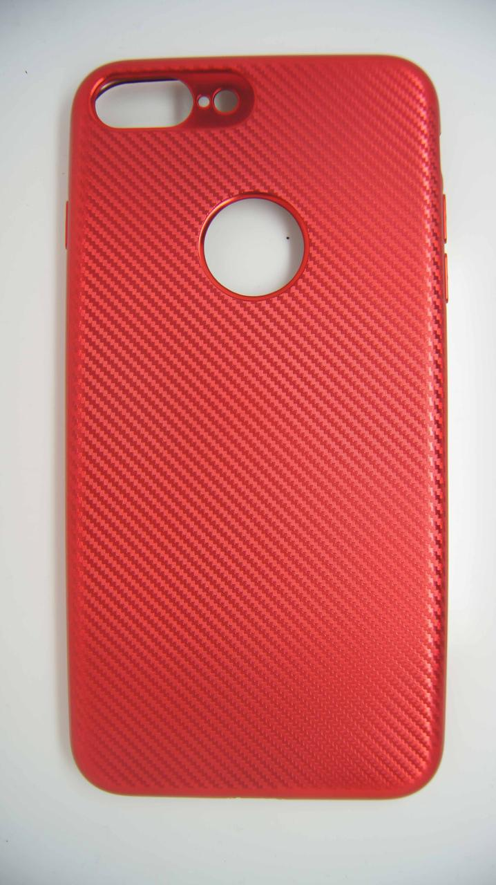Силикон Biboshi for iPhone 7+ Red