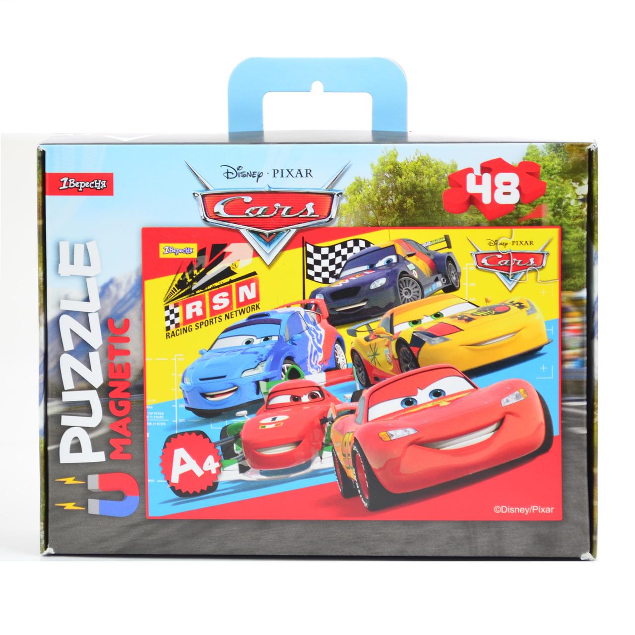 """Пазл магнитный А4 """"Cars 1"""""""
