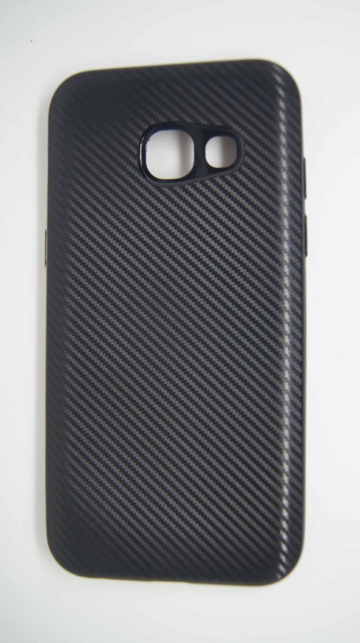 Силиконовый чехол Biboshi для Samsung A320 Black