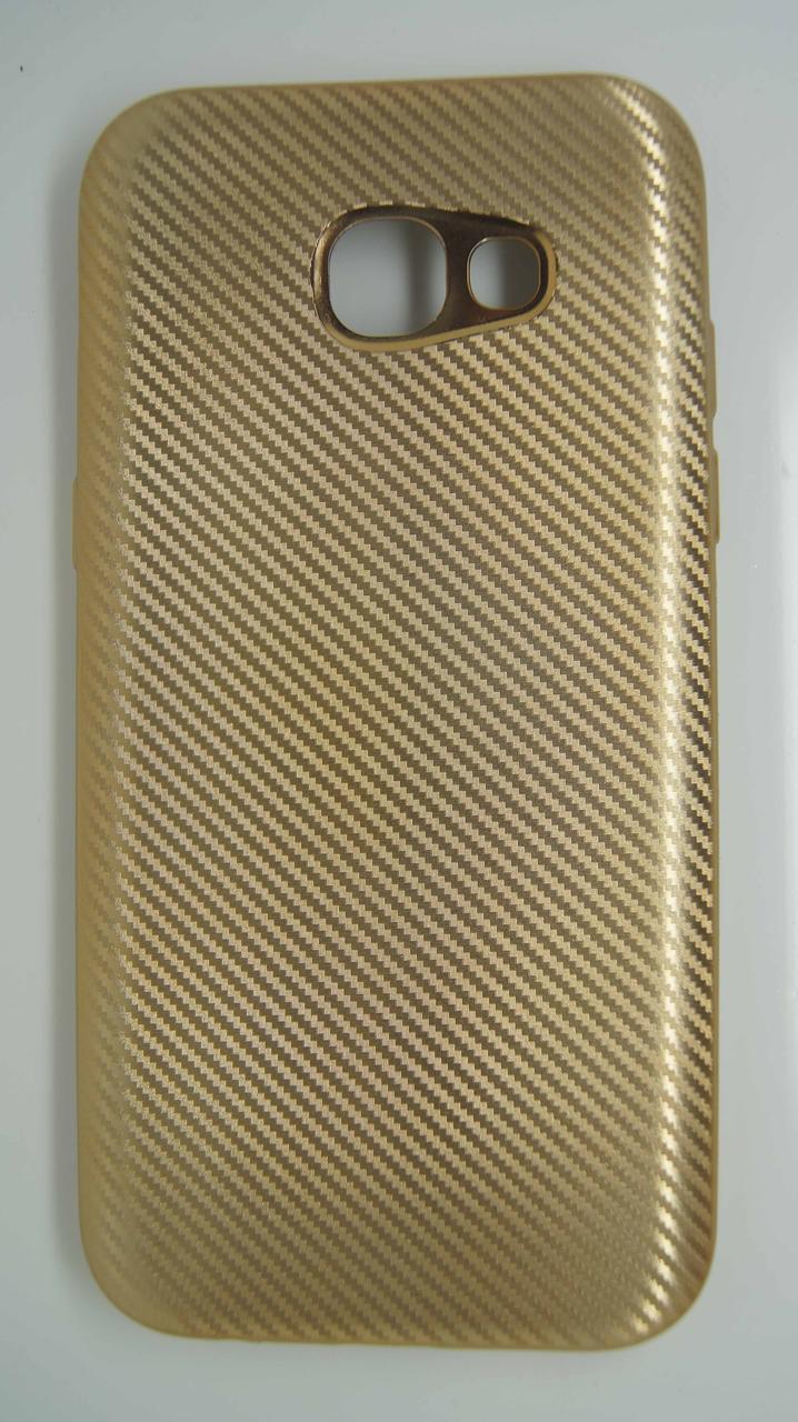 Силиконовый чехол Biboshi для Samsung A520 Gold