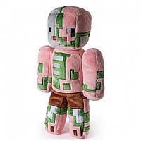 Minecraft NEW JINX ! Игрушка из Майнкрафт 18 см. Zombie Pigman Свинозомби