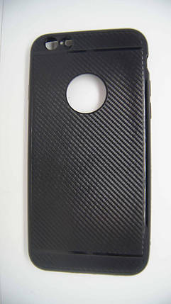 Силиконовый чехол Biboshi для iPhone 6 / 6S Black, фото 2