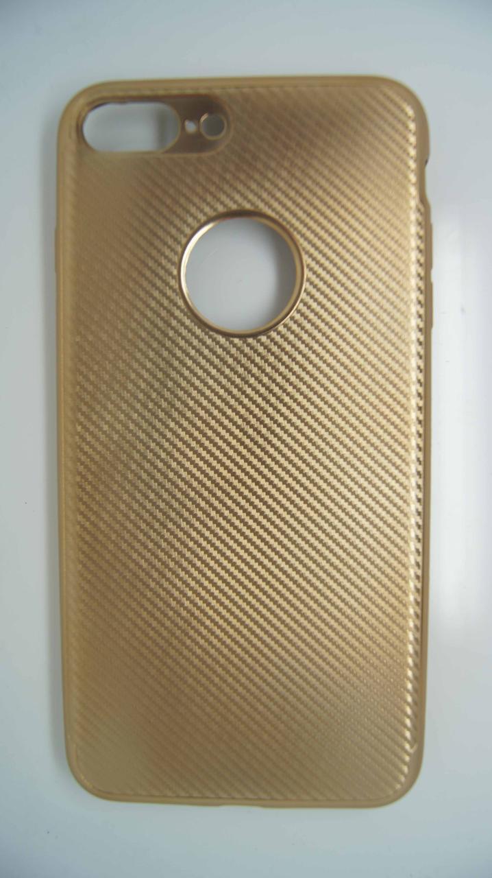 Силиконовый чехол Biboshi для iPhone 7 Plus / 8 Plus Gold