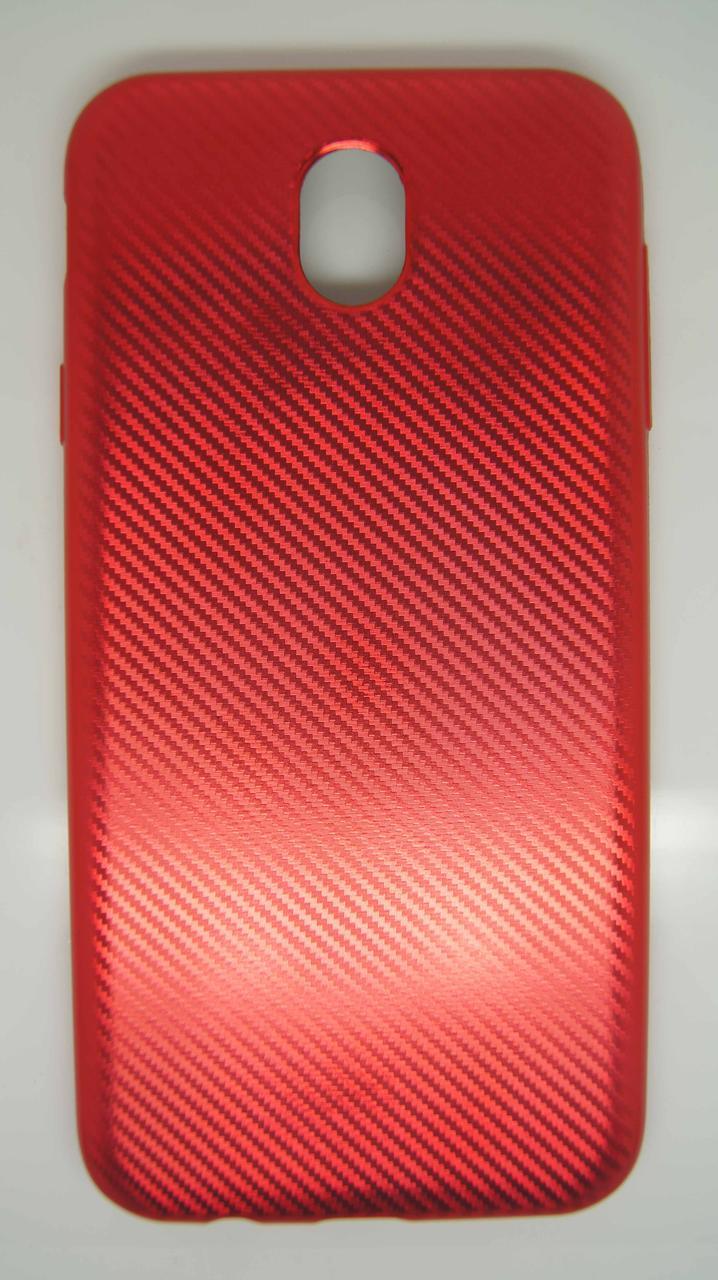 Силиконовый чехол Biboshi для Samsung J7 (2017) Red