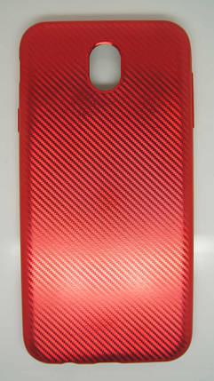 Силиконовый чехол Biboshi для Samsung J7 (2017) Red, фото 2