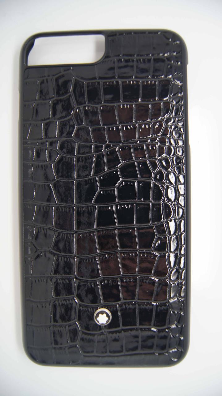 Пластиковый чехол Star для iPhone 6 Plus / 6S Plus Black крокодил
