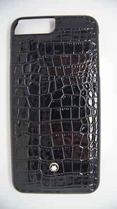Пластиковый чехол Star для iPhone 6 Plus / 6S Plus Black крокодил, фото 2