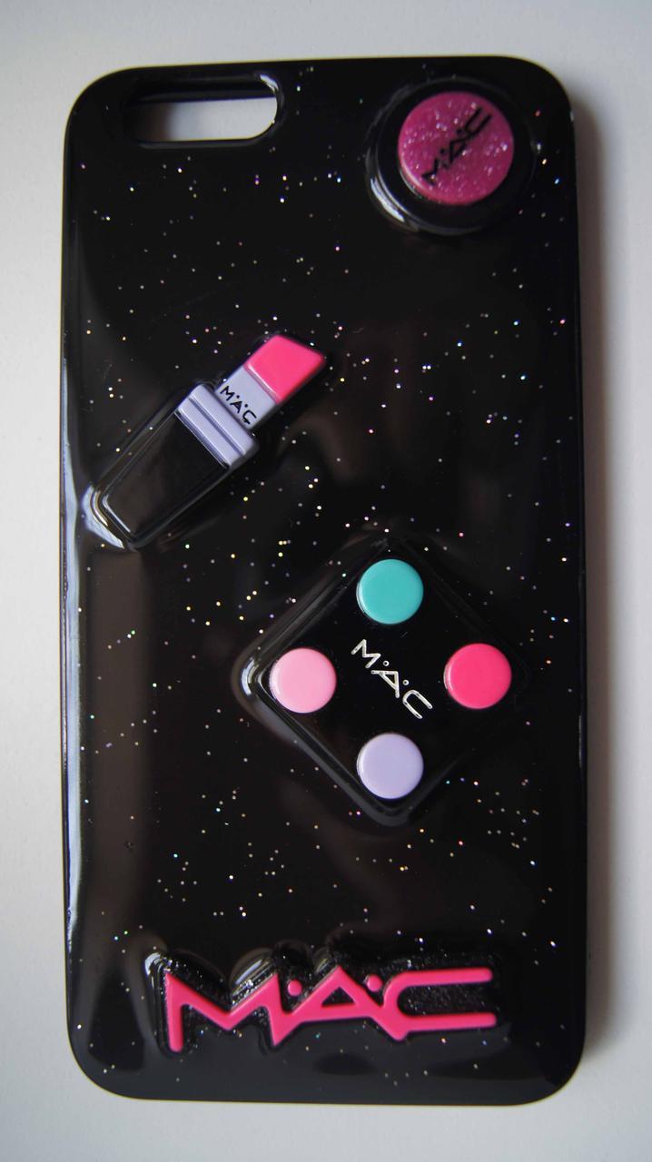 Силиконовый чехол для iPhone 6 Plus / 6S Plus Black Mac