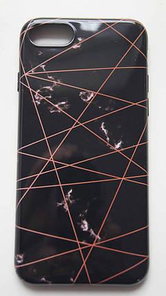 Силиконовый чехол для iPhone 7 / 8 Черный, фото 2