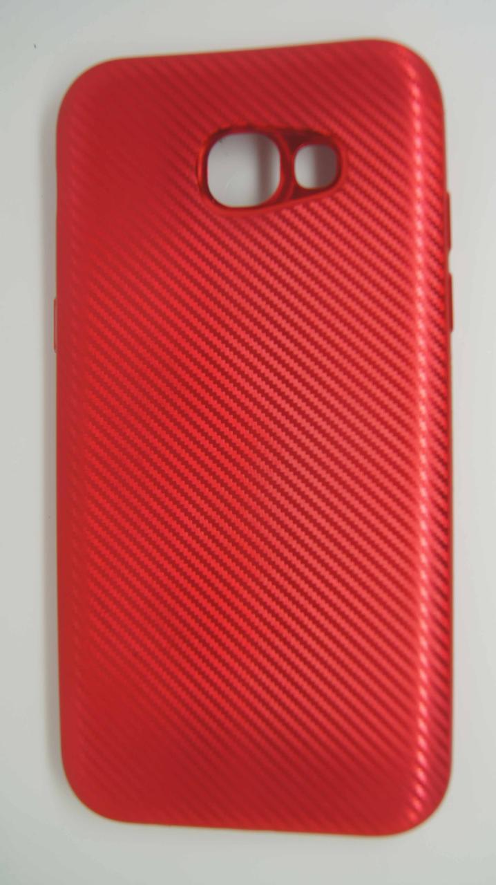 Силиконовый чехол Biboshi для Samsung A520 Red