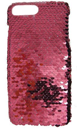 Пластиковый чехол для  iPhone 7 Plus / 8 Plus Чешуйки Розовый, фото 2