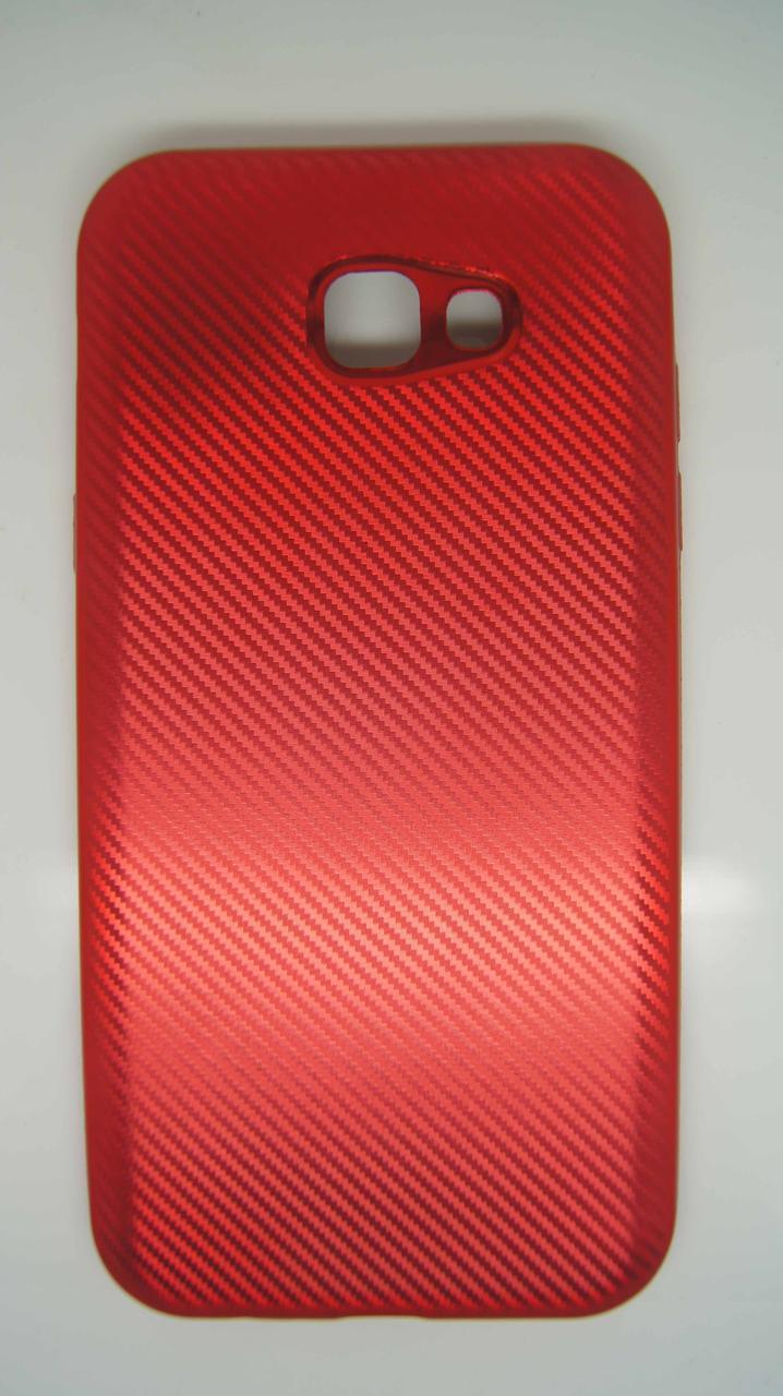 Силиконовый чехол Biboshi для Samsung A720 Red
