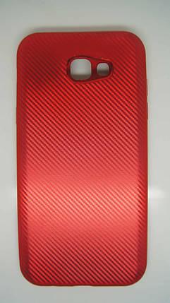Силиконовый чехол Biboshi для Samsung A720 Red, фото 2