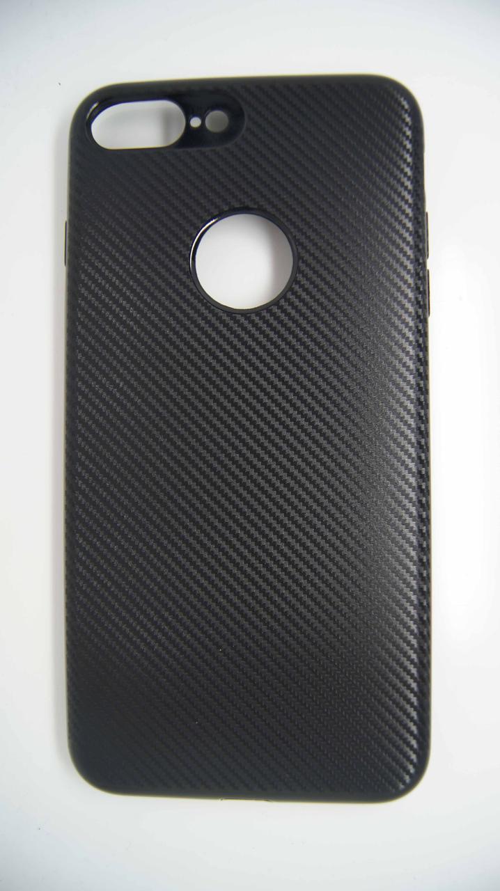 Силиконовый чехол Biboshi для iPhone 7 Plus / 8 Plus Black