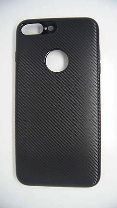 Силиконовый чехол Biboshi для iPhone 7 Plus / 8 Plus Black, фото 2