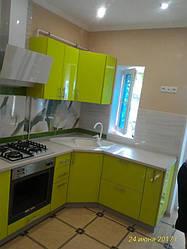 Угловая кухня MDF пленочный 2600*1700 мм