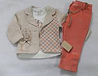 Модный костюм тройка для девочки Baby Small Турция