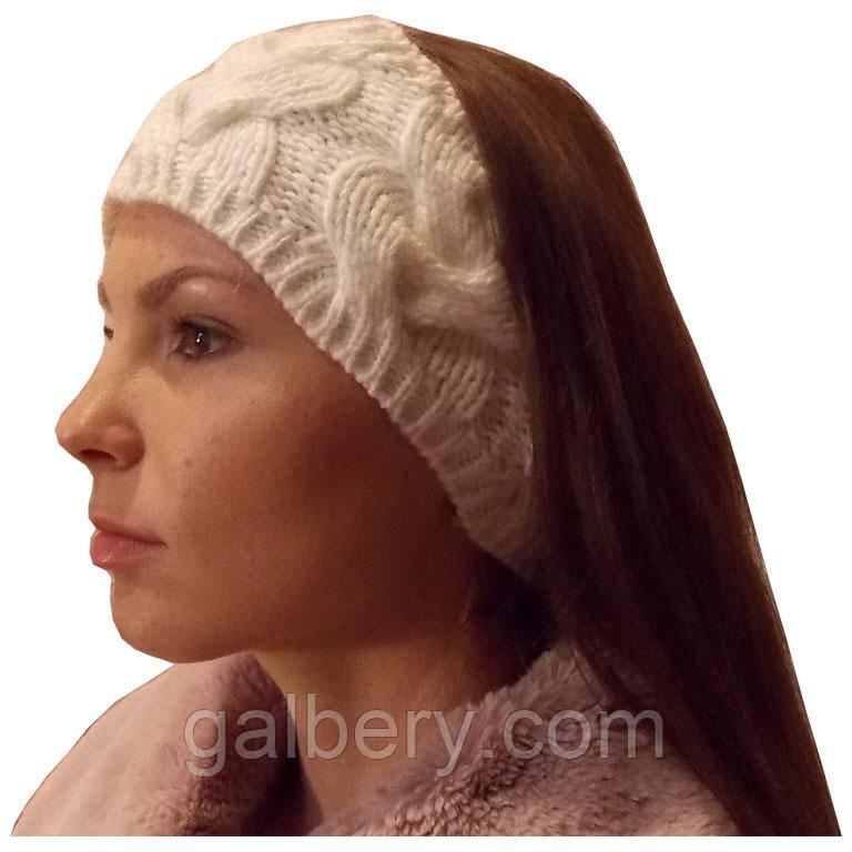 вязаная повязка на голову цена 220 грн купить в киеве Promua