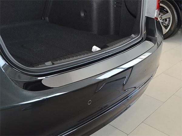 Накладка на бампер Premium Kia Carens IV 2013-