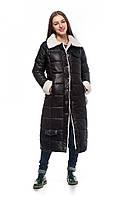 Стильная куртка женская зима на меху