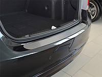 Накладка на бампер Premium Skoda Octavia II KOMBI FL 2009-