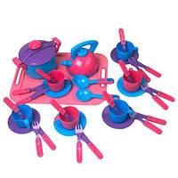Набор игрушечной посуды 04-424, 36 предметов (Y)