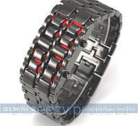 Часы наручные lava watch